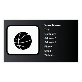 Negro del personalizable del logotipo del tarjetas de visita
