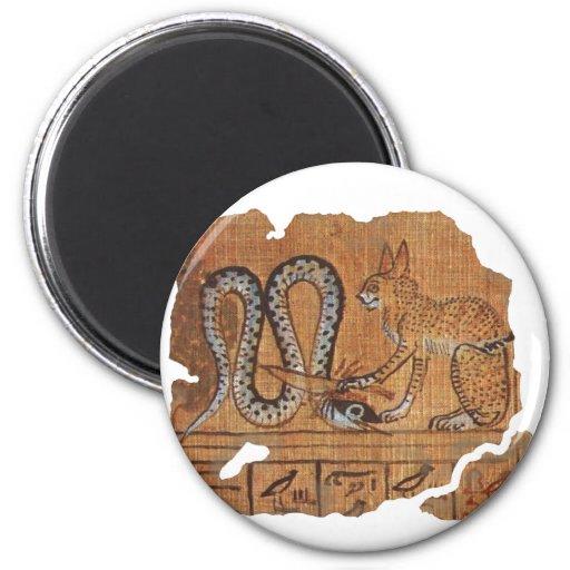 Negro del Ra y de Apophis Imán Redondo 5 Cm