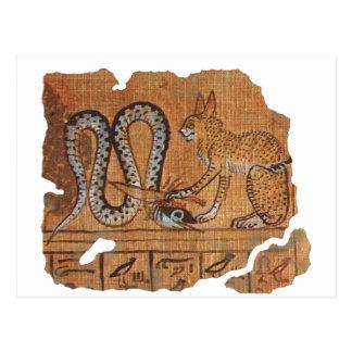 Negro del Ra y de Apophis Tarjetas Postales