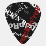 negro del rock-and-roll plectro