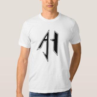 Negro del símbolo de AJH Polera