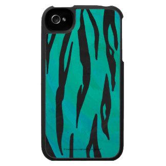 Negro del tigre e impresión del trullo iPhone 4 carcasa