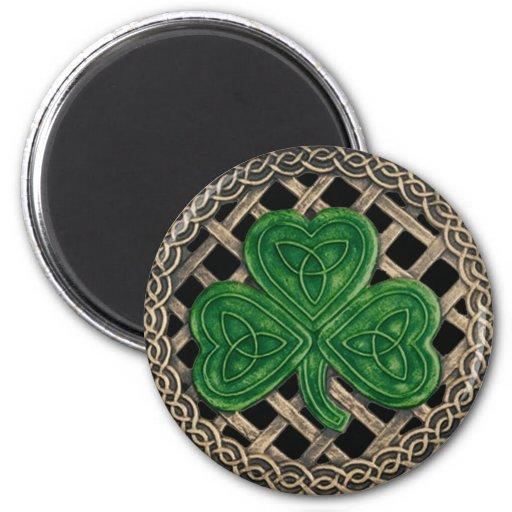 Negro del trébol y del imán de los nudos del Celti