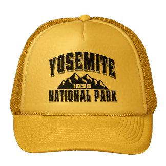 Negro del viejo estilo de Yosemite Gorros