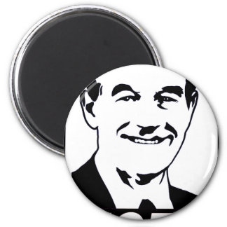 Negro del voto 2012 de Ron Paul Imán Redondo 5 Cm