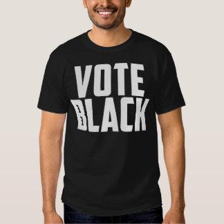 Negro del voto (camiseta negra) remeras