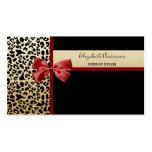 Negro elegante del diseño interior y leopardo del