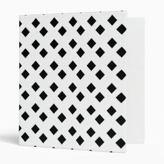 Negro en el diseño blanco del diamante