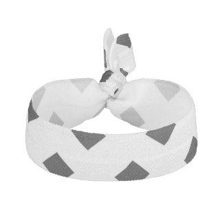 Negro en el diseño blanco del diamante elásticos para el pelo