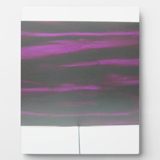 Negro en púrpura placas para mostrar