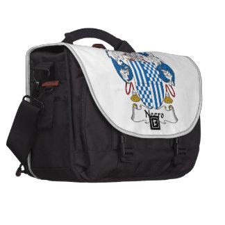 Negro Family Crest Commuter Bag