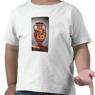 Negro-figura griega amphora camisetas