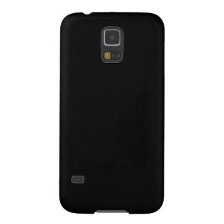Negro Carcasas Para Galaxy S5