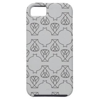 Negro gris de Avante Garde iPhone 5 Coberturas