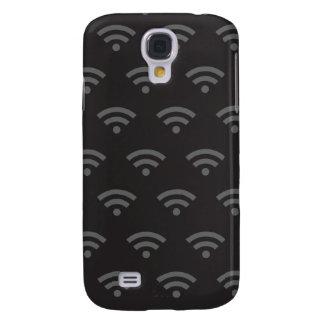 Negro gris de Wifi Funda Para Galaxy S4