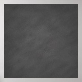Negro gris del tablero de tiza del fondo gris de póster