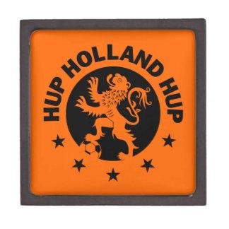 Negro Hup Holanda - color de fondo Editable Cajas De Regalo De Calidad