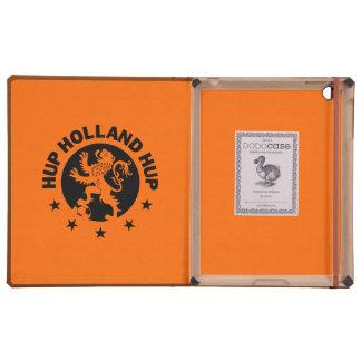 Negro Hup Holanda - león holandés anaranjado iPad Cárcasa