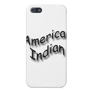 Negro indio americano iPhone 5 protectores