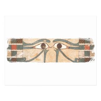 Negro interno del ataúd de Amenhotep Tarjetas Postales
