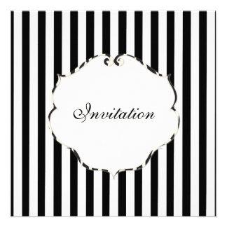 Negro llano de las rayas de PixDezines + blanco ma Anuncios Personalizados
