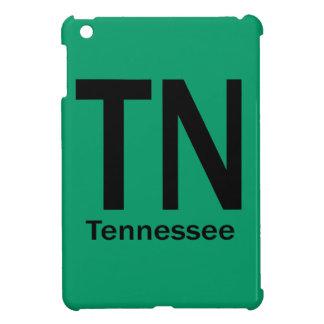 Negro llano del TN Tennessee iPad Mini Carcasa