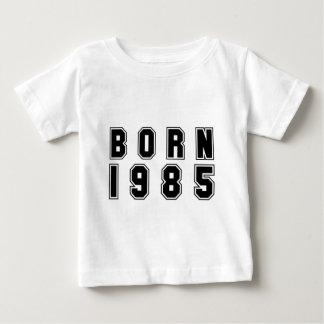 Negro nacido 1985 playera de bebé