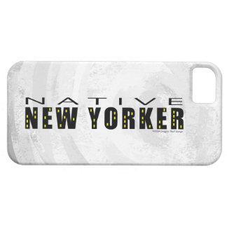 Negro nativo del neoyorquino funda para iPhone SE/5/5s