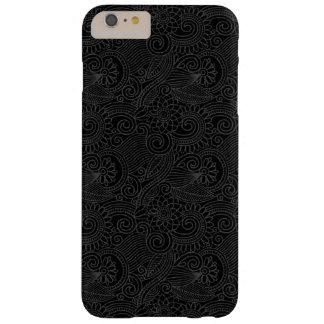 Negro natural creativo funda de iPhone 6 plus barely there