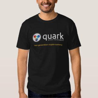 Negro oficial de la camiseta del Quark Camisas