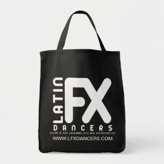 Negro oficial del bolso del tote de LFX Bolsa De Mano