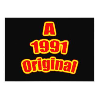 Negro original del rojo 1991 comunicados