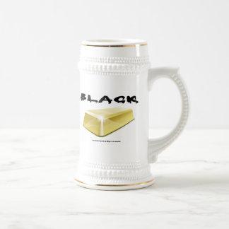 Negro, oro, barra de oro, campo petrolífero Stein, Taza De Café