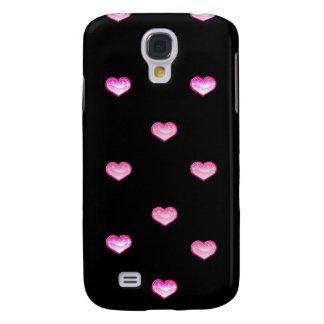 Negro personalizado del caso del iPhone con los co