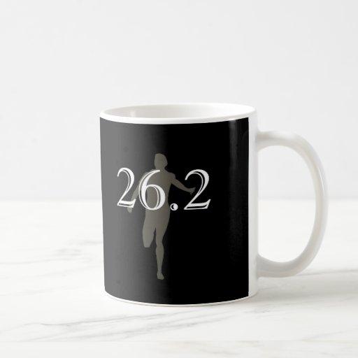 Negro personalizado del recuerdo del corredor de m taza