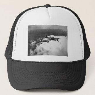 Negro Pilots in Shark-Nosed P-40 Fighter Aircraft Trucker Hat