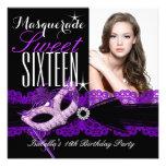 Negro púrpura del dulce 16 del dulce dieciséis de