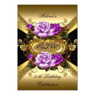 Negro púrpura del oro de los rosas de la fiesta de
