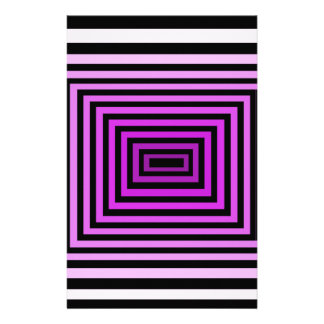 Negro púrpura torcido de la ilusión óptica del jue  papeleria