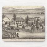Negro, residencias de Neal, propiedades Alfombrilla De Ratón