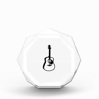 negro resumido del gráfico de la guitarra
