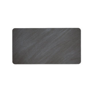 Negro retro del estilo del fondo de la pizarra de etiqueta de dirección
