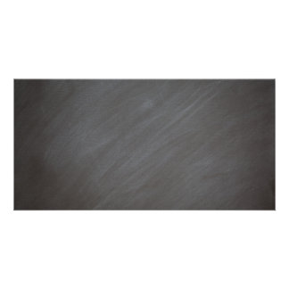 Negro retro del estilo del fondo de la pizarra de plantilla para tarjeta de foto
