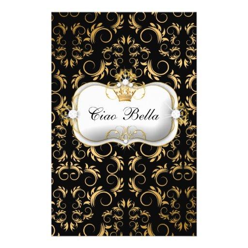 "Negro rico divino de oro de 311 Ciao Bella Folleto 5.5"" X 8.5"""