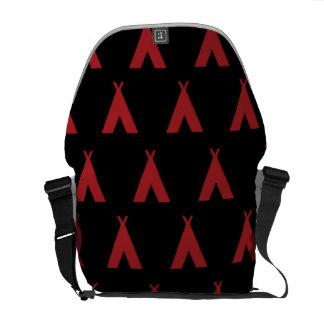 negro rojo de la tienda de los indios norteamerica