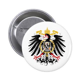 Negro rojo prusiano y oro de Eagle Pin