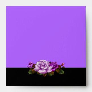 Negro rosado de color de malva púrpura de los rosa