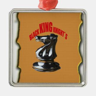 ` Negro s de rey Knight con el fondo Ornamentos De Reyes Magos