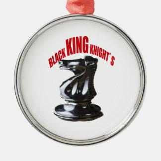 ` Negro s de rey Knight Ornaments Para Arbol De Navidad