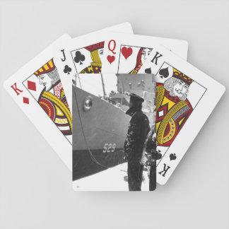 Negro sailors of the USS MASON_War Image Playing Cards